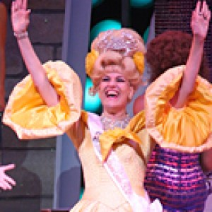 me and Aubrey ODay in Hairspray